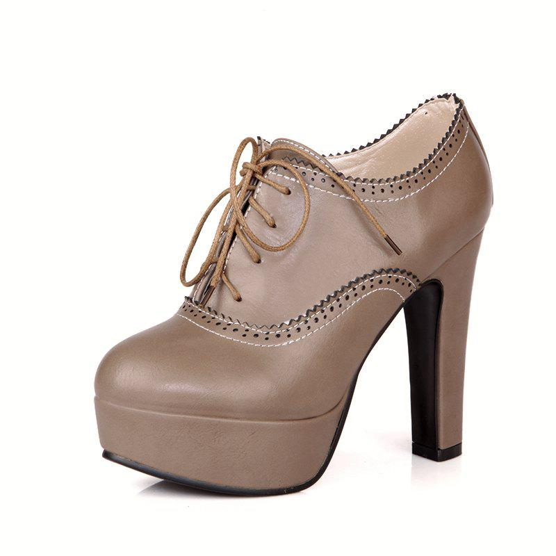 Fancy High Heeled Lace Women'S Shoes