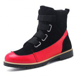 ZEACAVA Autumn and Winter New Leather Boots -