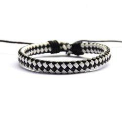 Hand Knitted Cowhide Bracelet Fashion Accessories -