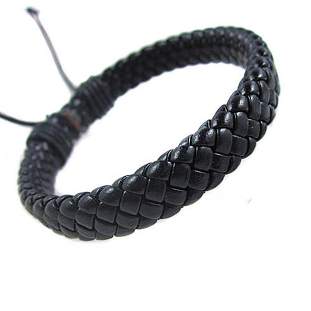 Buy Hand Knitted Cowhide Bracelet Fashion Accessories