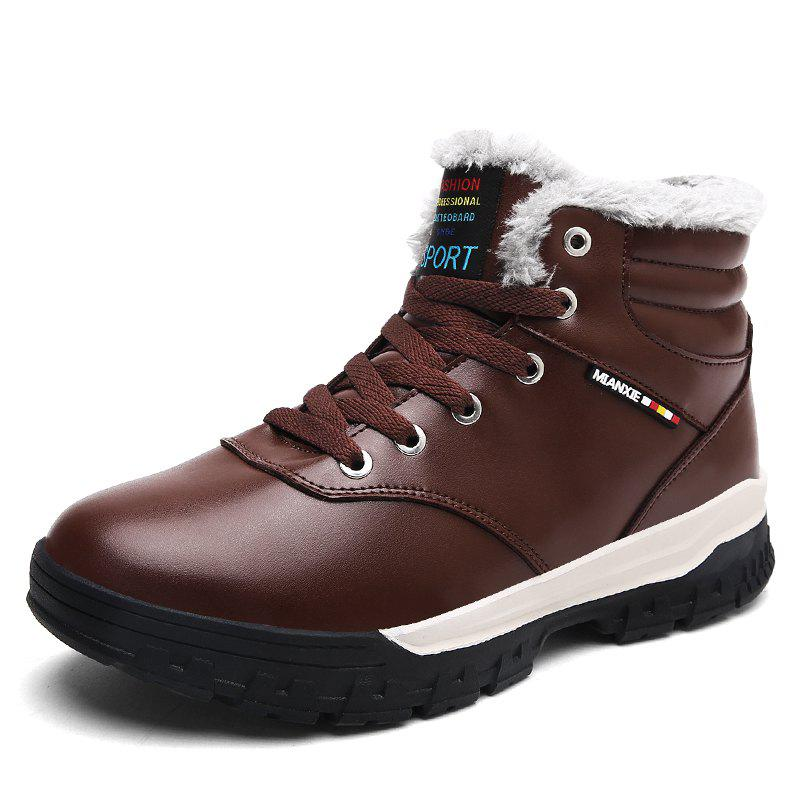Fashion Warm Shoes Men Breathable Outdoor Boots