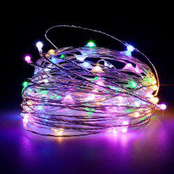 Battery Operated Garland Indoor Outdoor Home Christmas Decoration Strip Light -