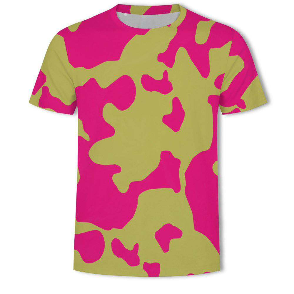 Store Men's Camouflage Personalized Print short-sleeved T-shirt