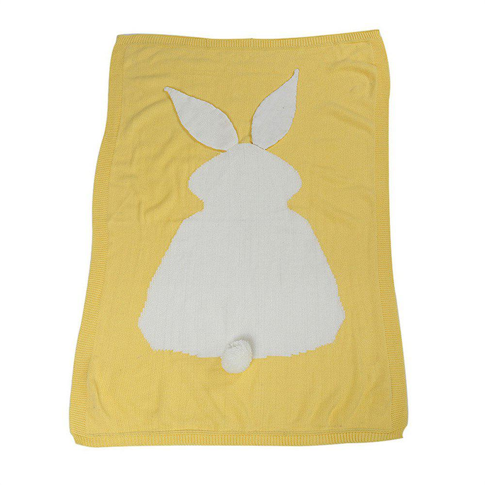 Shop Baby Girl and Boy Knit Blanket and Rabbit Wool Quilt