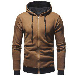 Men's Fashion Solid Color Slim Casual Sweater -
