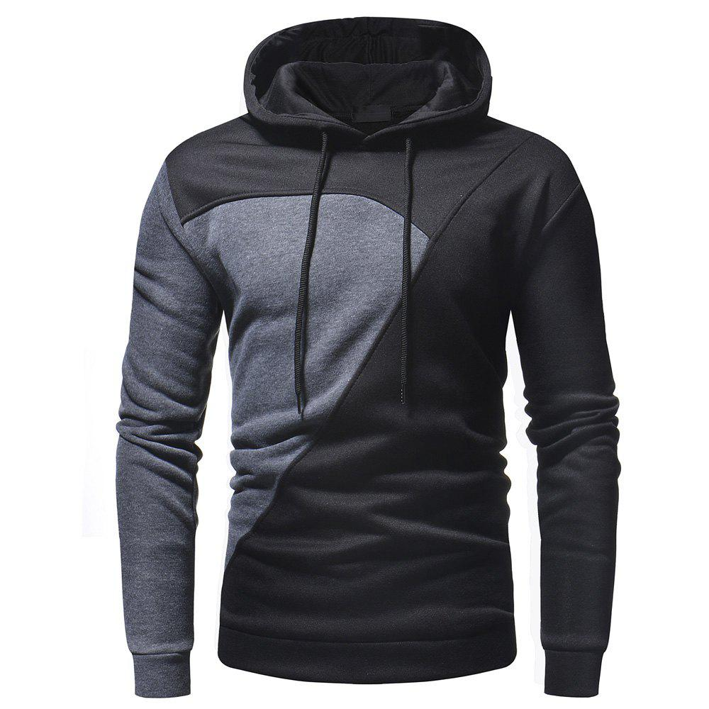 Outfit Men's Casual Fashion Stitching Sweater