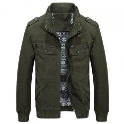 Men Autumn Fashion Solid Jacket -