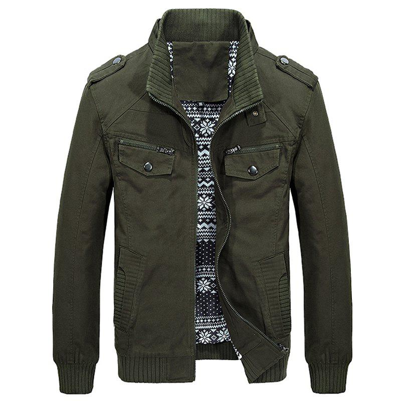 Hot Men Autumn Fashion Solid Jacket