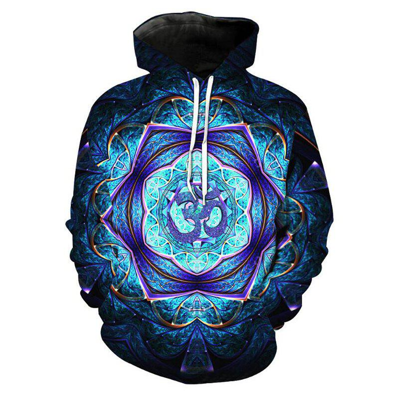 Hot Men's Forest Starry Sky 3D Print Hoodie
