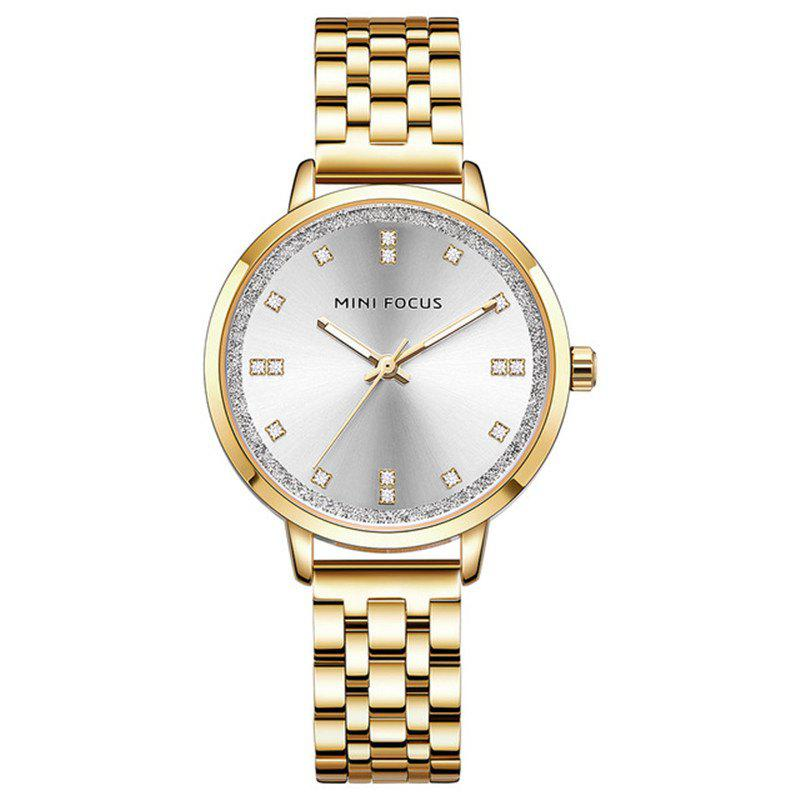 Outfits MINI FOCUS Ladies Top Fashion Stainless Steel Quartz Famous Brand Women Watches