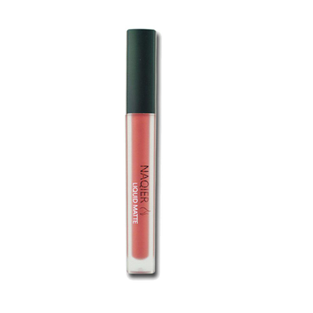 Unique NAQIER Non-Stick Cup Matte Lipstick Square Tube Lip Gloss Liquid