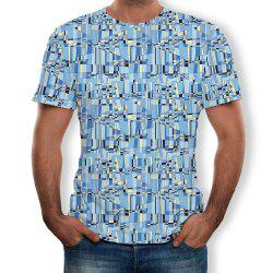 Fashion Style Men's Printed Short Sleeves -