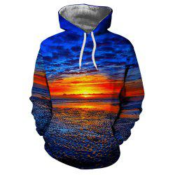Sunset Photography Men's Hoodie Sweater -
