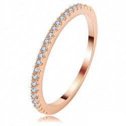 Fashionable Delicate Zircon Ring Girl -