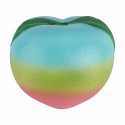 Realistic Peach Soft PU Foam Squishy Toy -