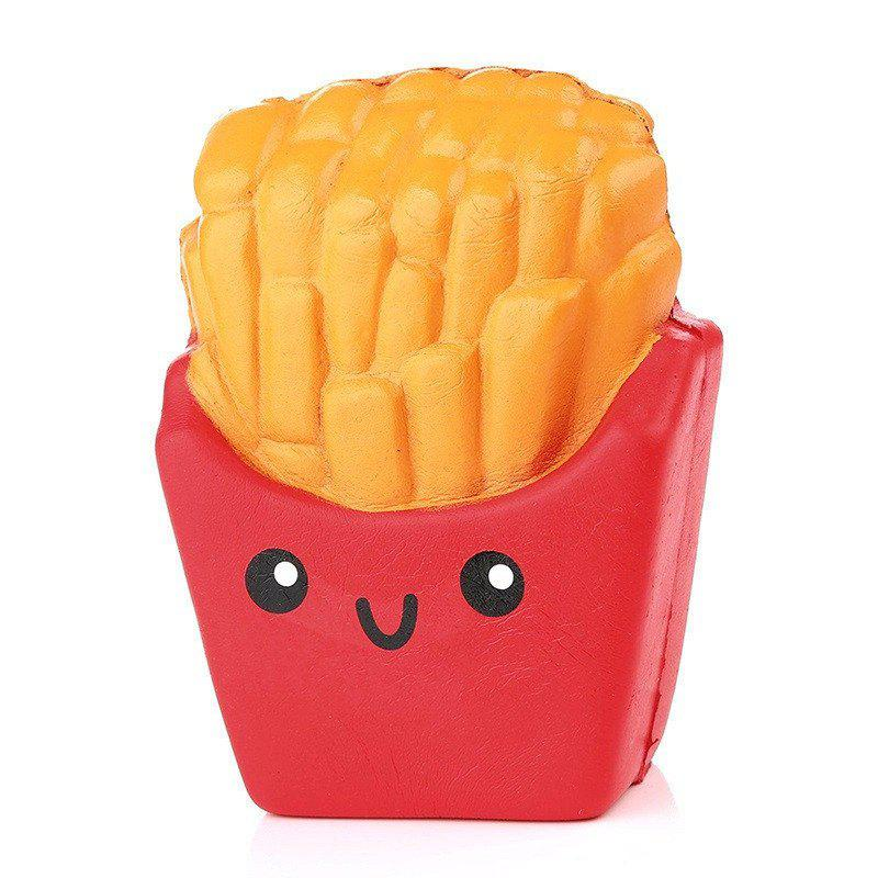 Online Jumbo Squishy French Fries Slow Rising Collection Decoration Toy