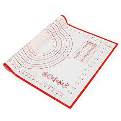 Non-Stick Silicone Baking Mat Kneading Pad Sheet Glass Fiber Rolling -