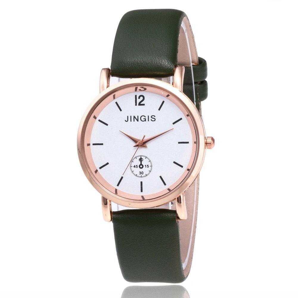 Outfit Ladies Leather Watch Simplified Student's Quartz Watch