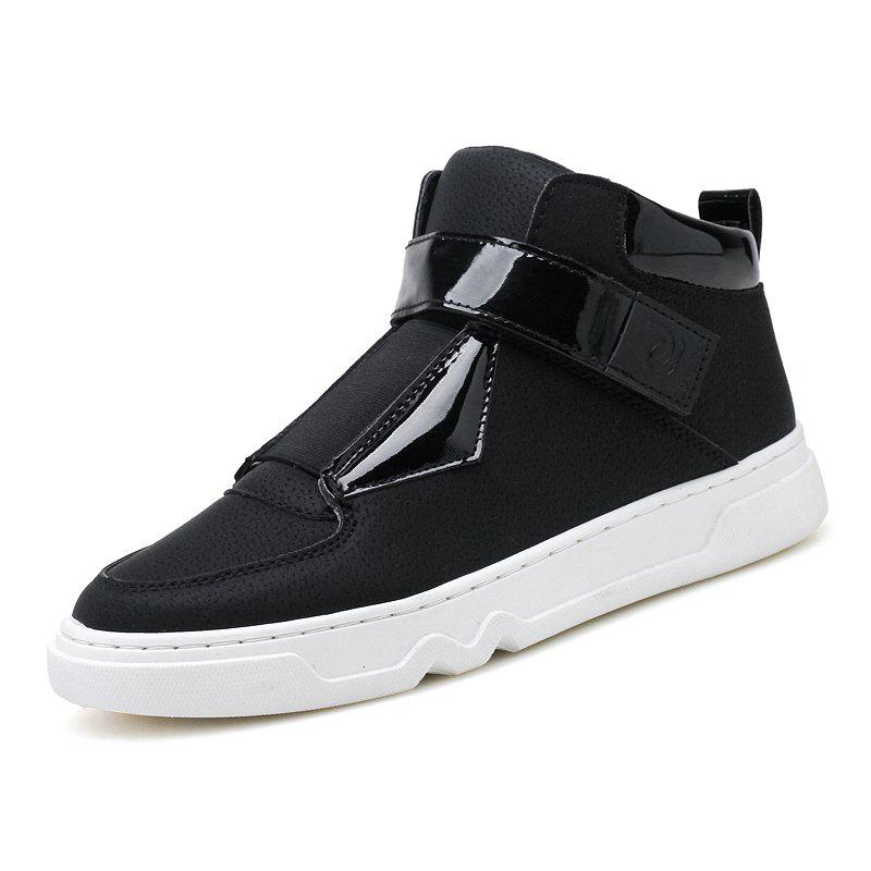 Trendy ZEACAVA Fashion Men  New Two-color High-top Shoes