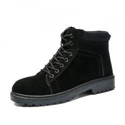 ZEACAVA Spring and Autumn Casual Fashion Short Men's Martin Boots -