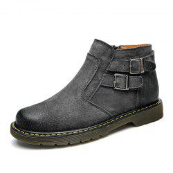 ZEACAVA Trend Men's Tooling Fashion Casual Shoes -