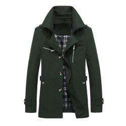 Men Autumn Stylish Plus Size Jacket -