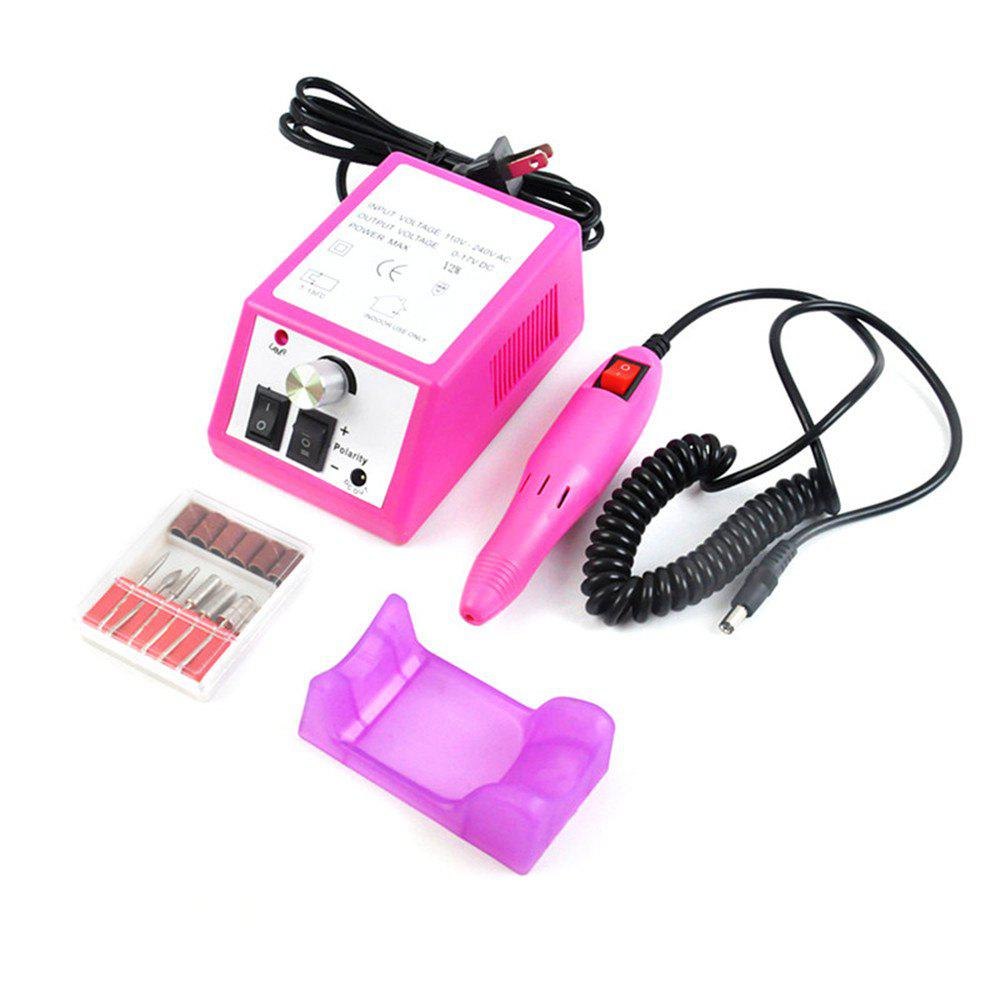 Hot Drill Machine Electric Manicure Pedicure Polisher Nail Tool Kit