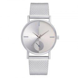 XR2924 Ladies Simple Casual Mesh Alloy Watch -