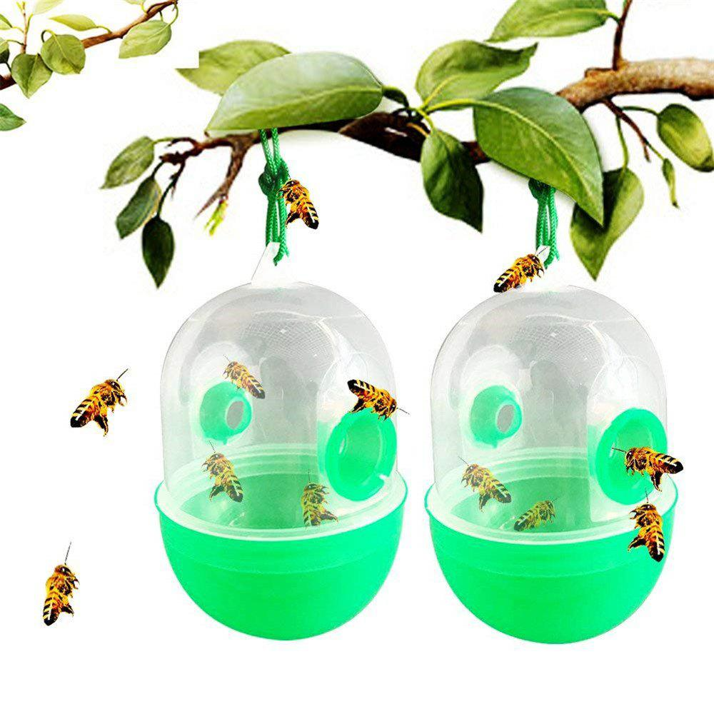 Latest 2PCS Wasp Trap Outdoor Bee Honey Insect Catcher