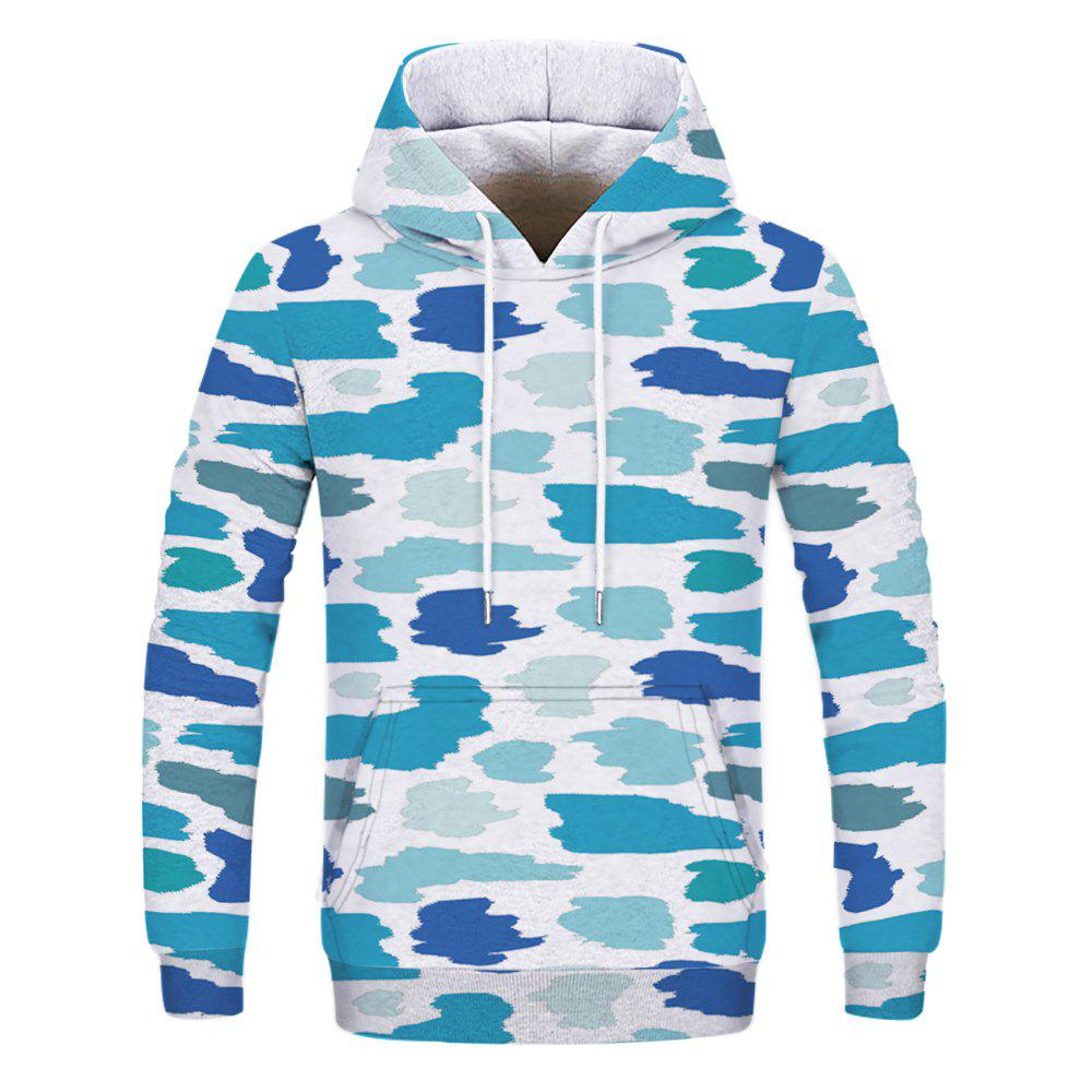 Hot Fashion Trend Men's Printed Camouflage Hoodie