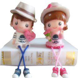 Cute Couple Dolls in A Pair -