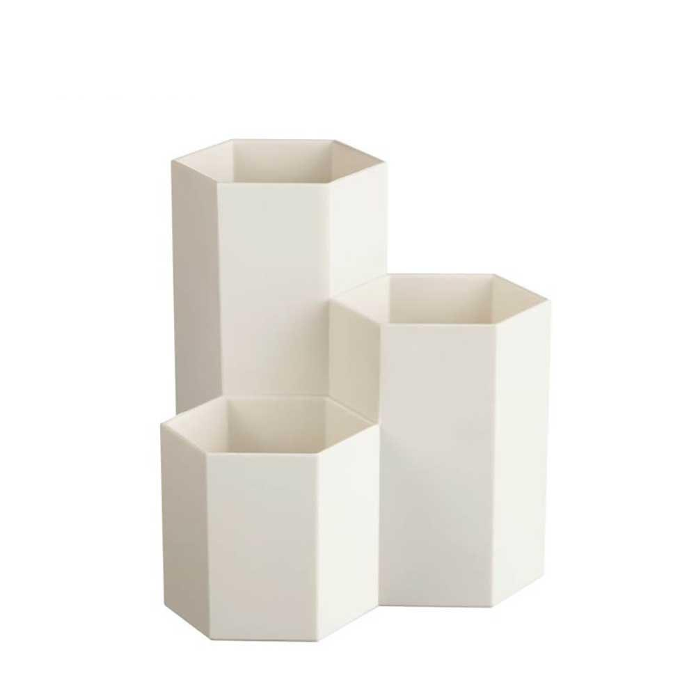 Outfits Solid Color Geometry Hexagon Splicing Storage Box