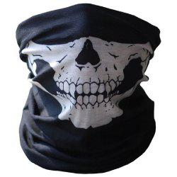YEDUO Halloween Skull Masks Outdoor Motorcycle Bicycle Multi Function Neck Warm -