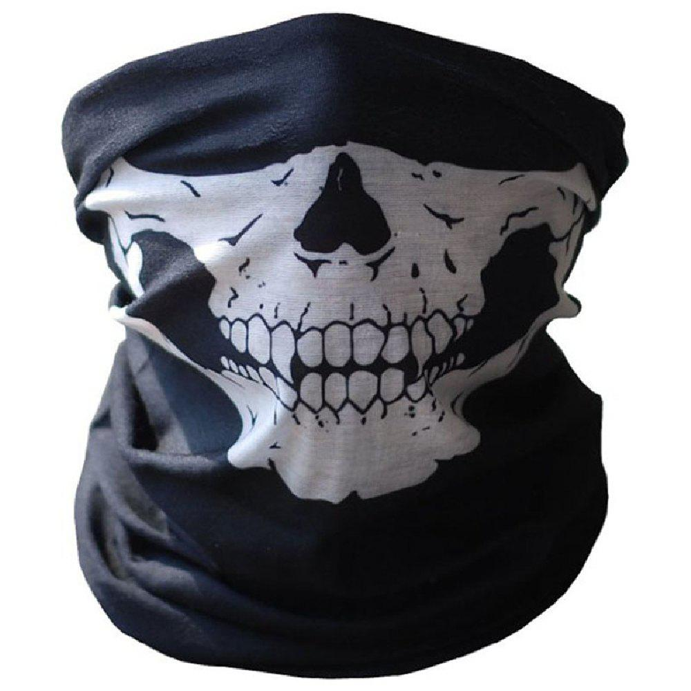 Outfit YEDUO Halloween Skull Masks Outdoor Motorcycle Bicycle Multi Function Neck Warm
