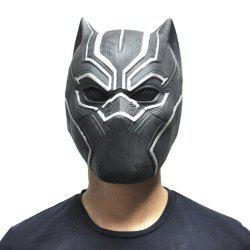 YEDUO Black Panther Masks Movie Fantastic Four Cosplay Latex Party Halloween -
