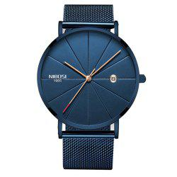 NIBOSI Unisex Luxury Famous Top Brand Dress Fashion Watch Кварцевые наручные часы -