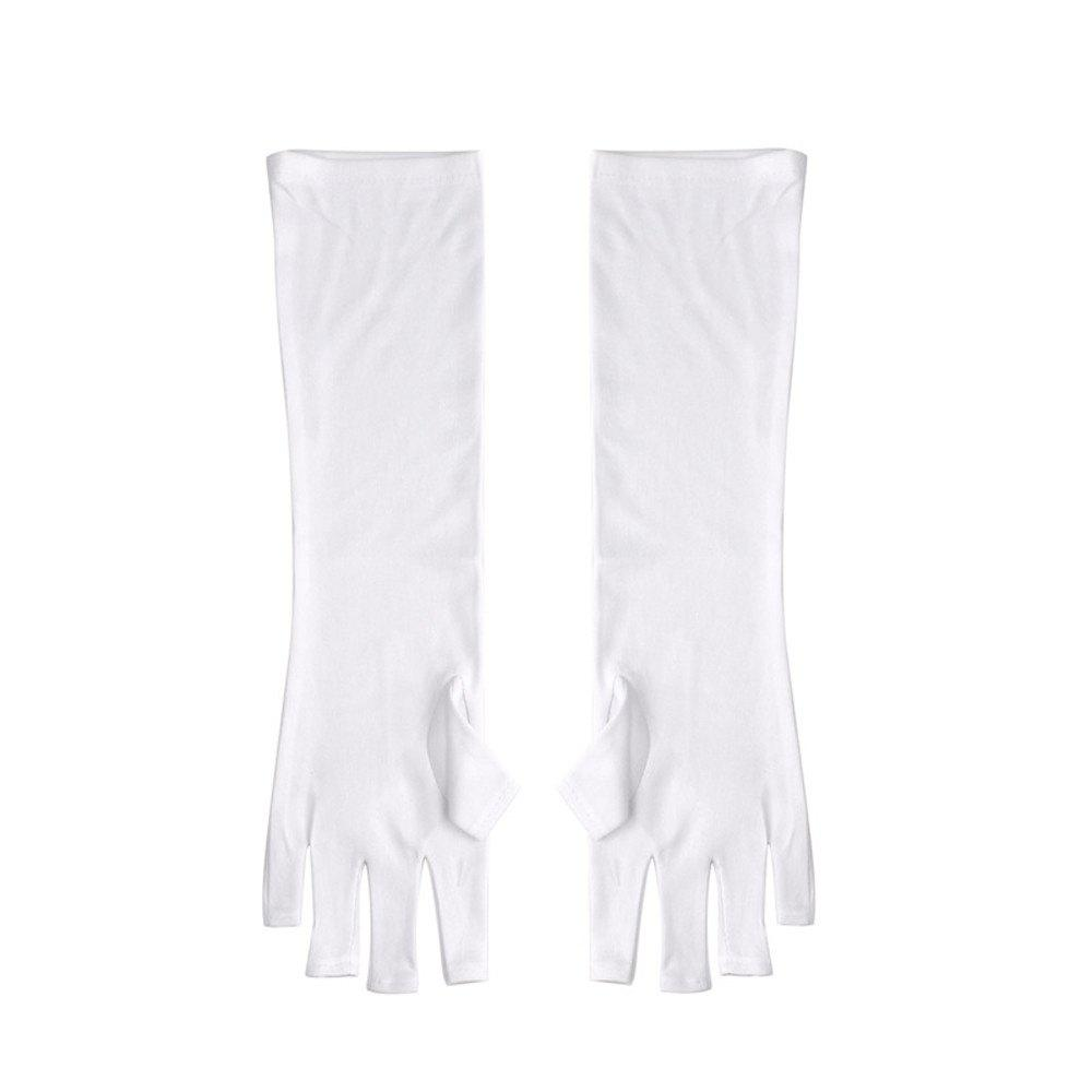 Cheap 1 Pair Nail UV Radiation Protection Glove  LED Gel Curing Lamp Partner
