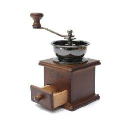 Classical Wooden Manual Coffee Grinder -