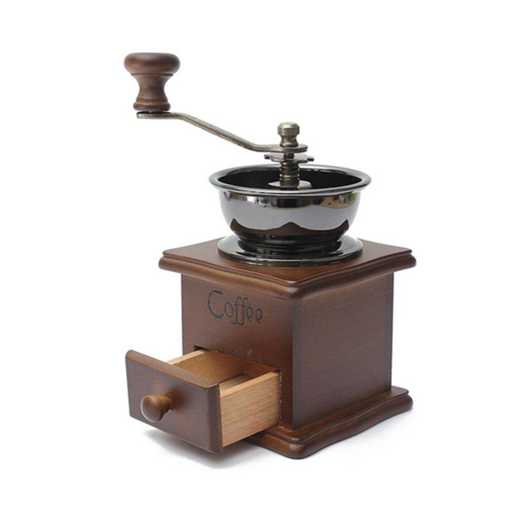New Classical Wooden Manual Coffee Grinder