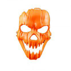 Horror Pumpkin Party Bar Nightclub Scared Plastic  Mask -