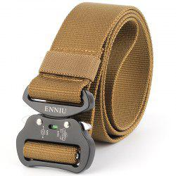 ENNIU4.3 Nylon Special Forces Multi-Functional Military Training Outdoor Belt -