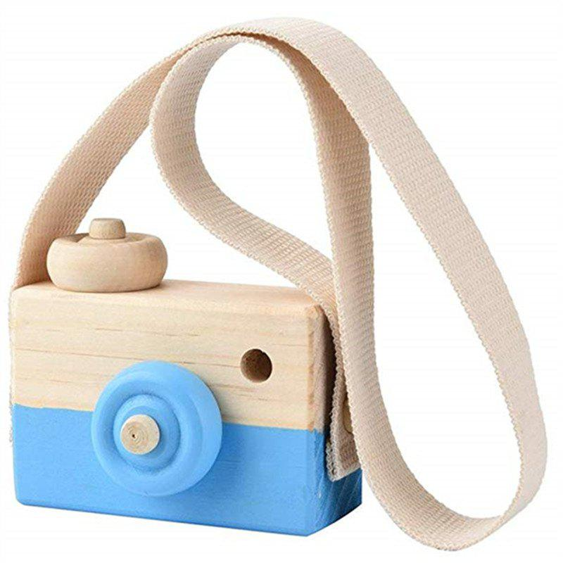 New Wooden Toy Camera Kids Creative Neck Hanging Rope Photography Prop Gift