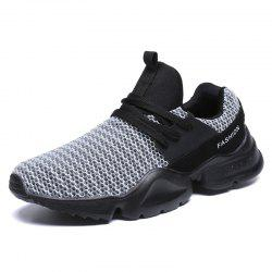 ZEACAVA Autumn Flying Woven Sports Casual Men's Shoes -