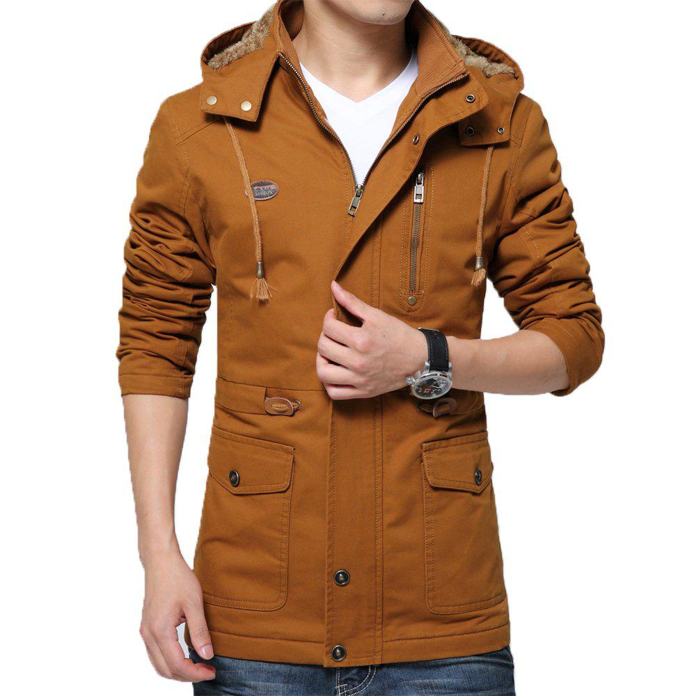 Shops Men Winter Cotton-padded Warm Leisure Fashion Jacket
