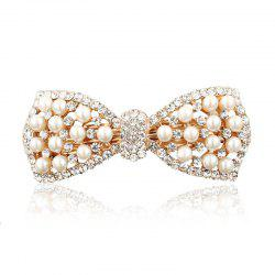 Diamond Fashion Simple Temperament Bow Hair Clip -