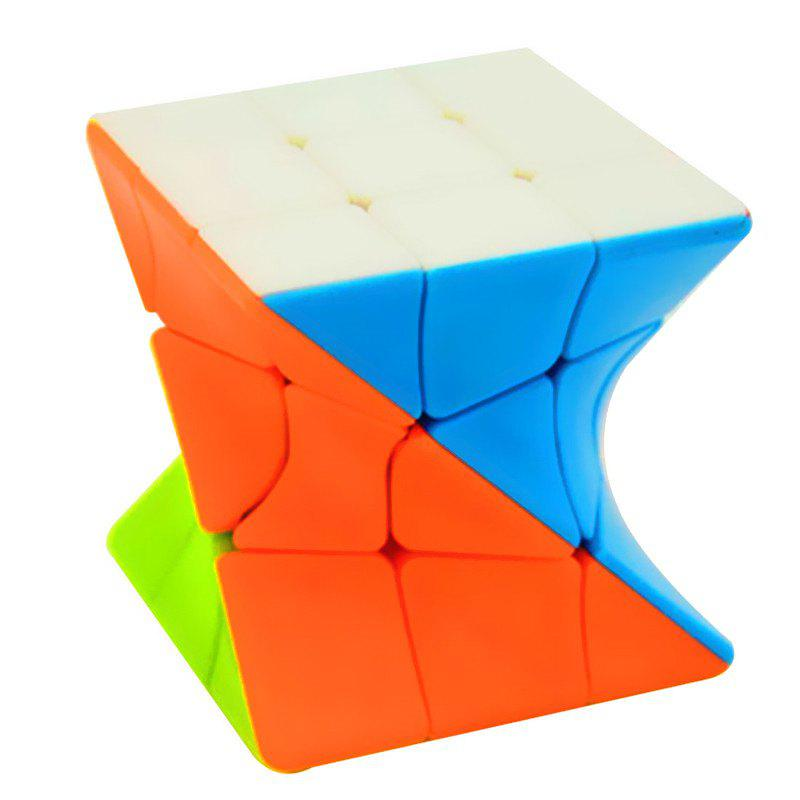 Shops 3 x 3 x 3 Twisty Magic Cube Intelligent Puzzles Toys for Kids Adults Elder