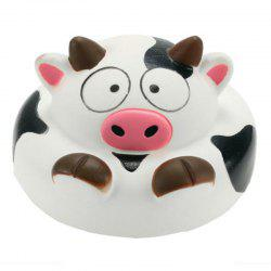 Jumbo Squishy Cow Slow Rising Animal Collection Gift Decor Toy -