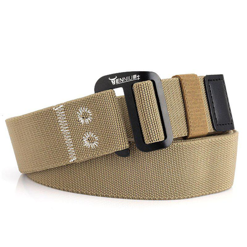 Outfit 9-BUTTON Nylon Elastic Stretch Tactical Outdoor Woven Canvas Belt