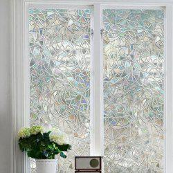 3D Geometry PVC Window Film Wall Sticker -