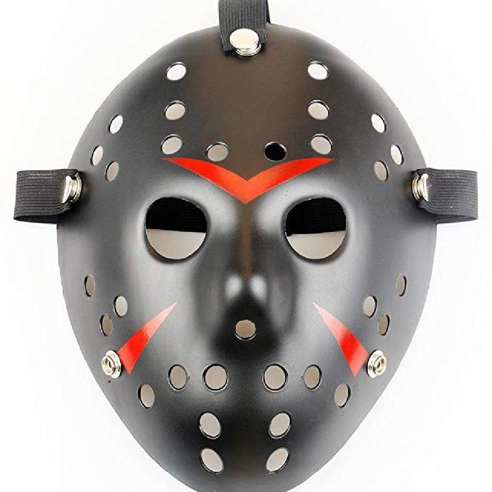 Outfits YEDUO   Halloween Masquerade Mask Jason vs Friday The 13th Cosplay Costume